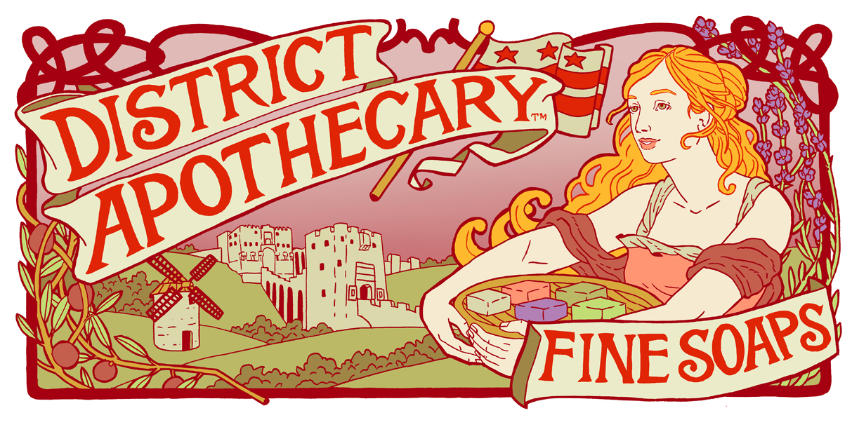 district apothecary fine soaps